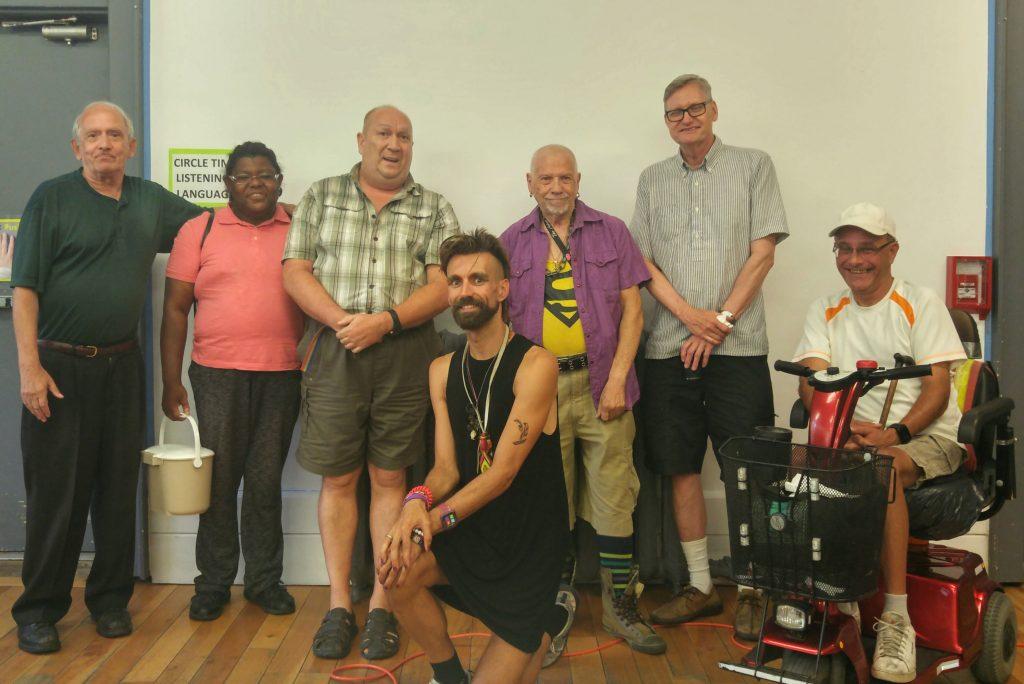 August 15 LGBT 50+ seniors